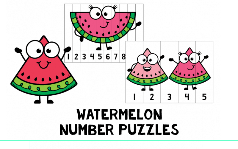 Watermelon Number Puzzles