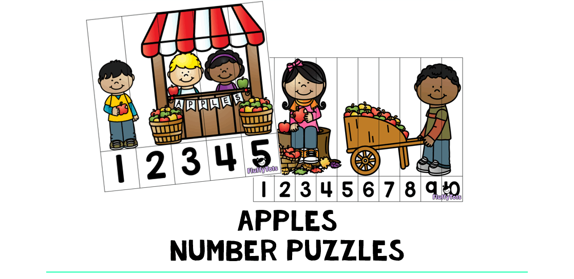 Apple Number Puzzles : FREE 5 Exciting Number Puzzles ...